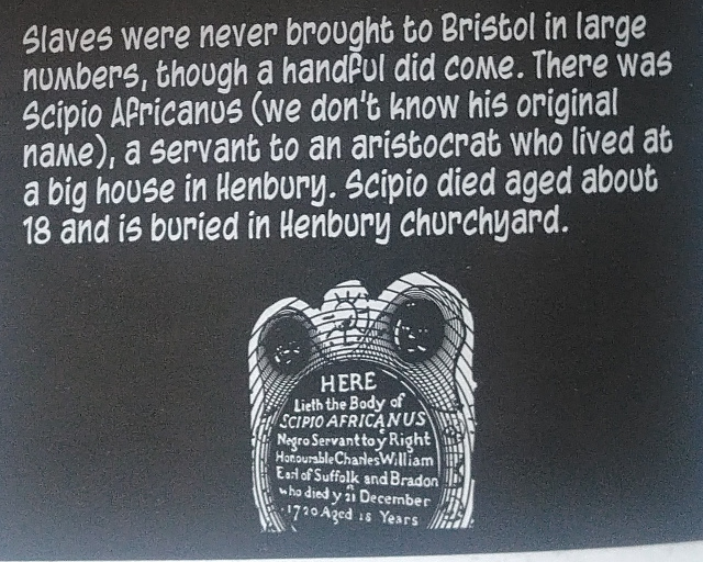 The reference in the book to Scipio Africanus and his grave.