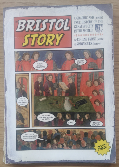 My copy of the Bristol Story book.