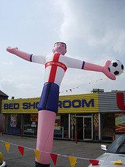 Inflatable England Player by Smabs Sputzer