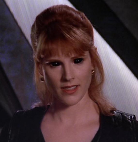 Pat Tallman as Lyta Alexander in Babylon 5