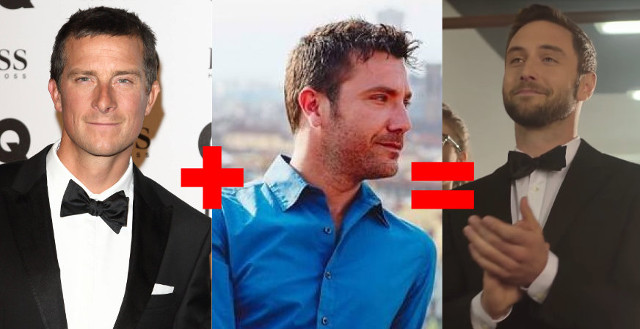 Bear Grylls + Gino D'acampo = Måns Zelmerlöw? Well, probably not, to be honest.