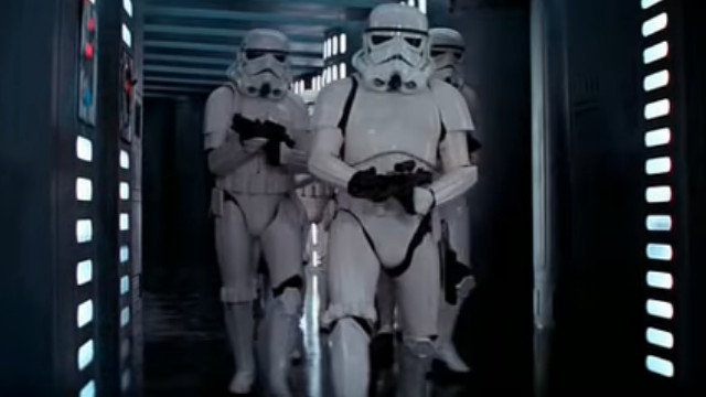 Stormtroopers in Star Wars: A New Hope (1977)