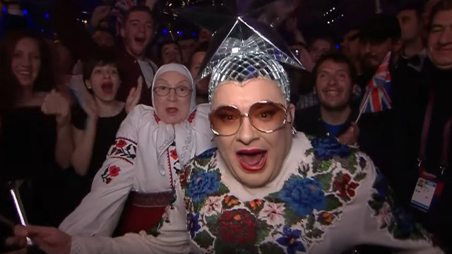 More Verka - remember, I had no idea who this was on the night!